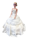 Braut aus Kuchen